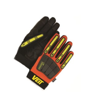 Hi-Viz Orange Work Gloves