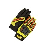 Hi-Viz Yellow Work Gloves