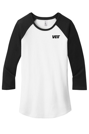 Women's Fitted Very Important Tee ® 3/4-Sleeve Raglan