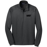 Heavyweight Vertical Texture 1/4-Zip Pullover