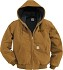 Carhartt Duck Active Jac/Quilted Flannel Lined Jacket