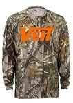 Badger Long Sleeve Moisture Wick Force Camo