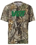 Badger Short Sleeve Moisture Wick Force Camo Shirt